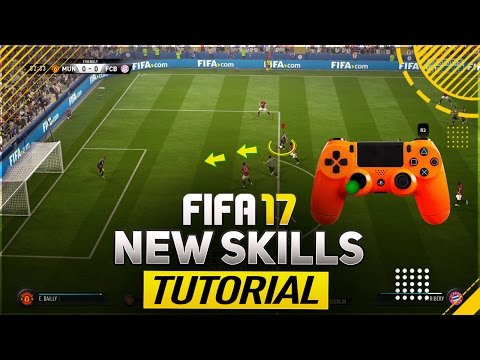 FIFA 17 NEW SKILLS TUTORIAL - ALL NEW SKILL MOVES & TRICKS (PLAYSTATION & XBOX)