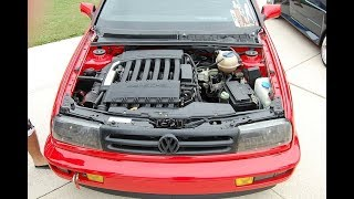 Golf mk3 Retirando ar do sistema de arrefecimento - Golf mk3 Removing air from the cooling system. thumbnail