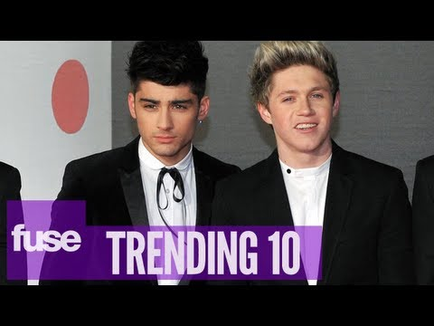 """One Direction Announce """"Our Moment"""" Fragrance - Trending 10 (06/07/13)"""