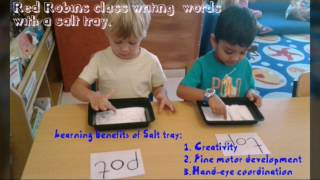 Teach your preschooler to write their own name! (Dubai sand tray writing method)