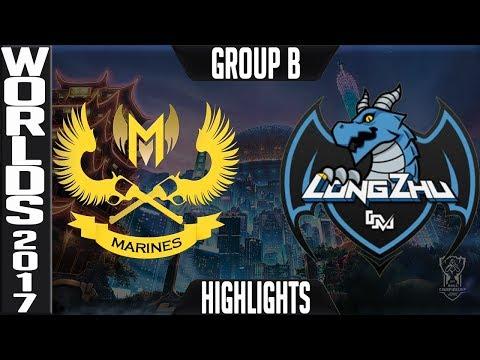 GAM vs LZ Highlights | 2017 World Championship Week 2 Worlds 2017 | Gigabyte Marines vs Longzhu
