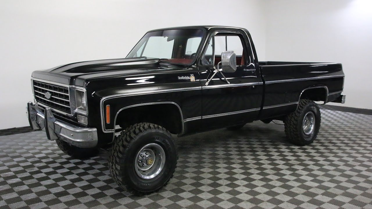 Chevy K20 For Sale >> 1979 CHEVROLET SCOTTSDALE - YouTube