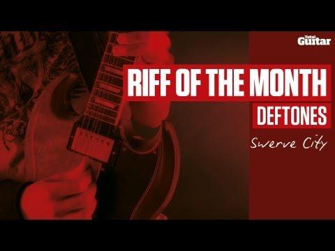 Deftones - Swerve City - Guitar Lesson (TG237)