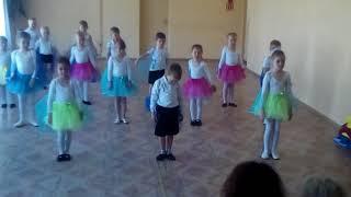 открытый урок по танцам в д/с №1 г.п. Радошковичи