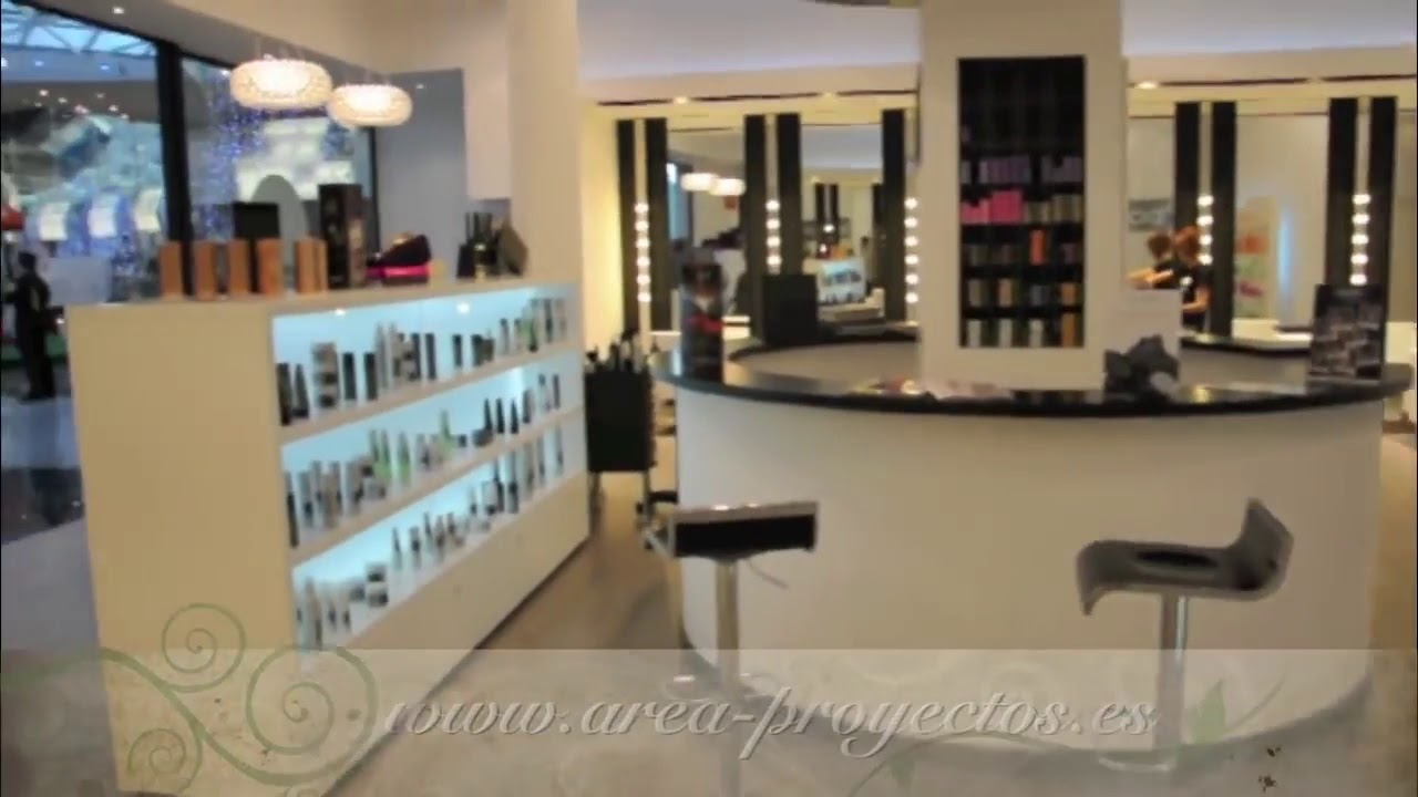 Dise o de peluquer as reformas de peluquer as dise o de locales comerciales youtube Diseno de peluquerias