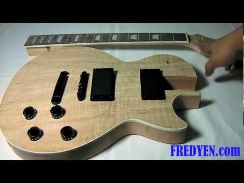DIY Les Paul Guitar Kit (Part 1: Overview)