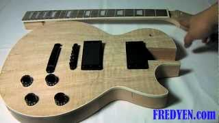 Diy Les Paul Guitar Kit (part 1: Overview)