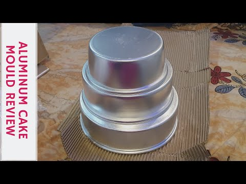 Aluminum Cake Mold Set Of 3 6 7 8 Review And Unboxing From Flipkart Youtube