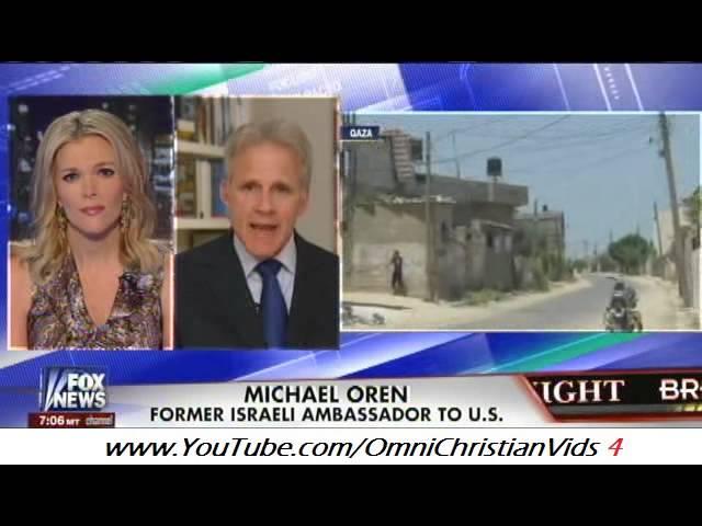 Michael Oren on Isreal / Hamas Conflict (8.1.14)