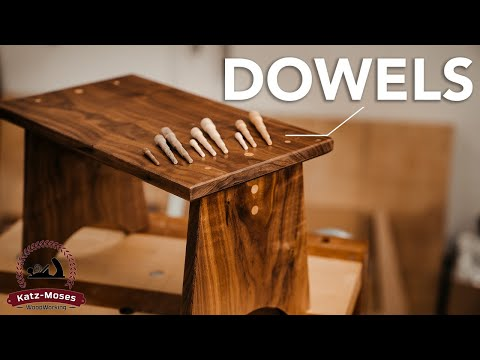 gorgeous-hardwood-dowel-joinery-kitchen-stool-(free-plans)---one-day-woodworking-build