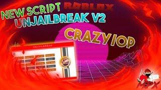 NEW ROBLOX JAILBREAK SCRIPT: UnJailBreak V2 [lua script] (WORKING) [crazy/op]   Roblox Script Review