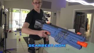 SHOOTING STUFF WITH THE NERF KHAOS!