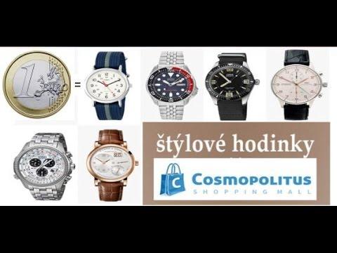 8919e2e57 Prečo nakupovať lacné Hodinky na Cosmopolitus? Lacné dámske panske hodinky