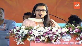 Neha Joshi Energetic Speech | BJYM Yuva Sankalp in Secunderabad Parade Grounds | YOYO TV Channel