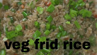 VEGETABLE FRID RICE/ how to make veg frid rice /ವೇಜ್ ಪೈಡ್ ರೈಸ್
