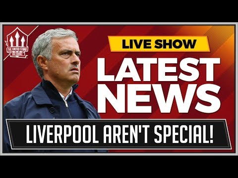 """LIVERPOOL Are S**T"" Jose Mourinho Manchester United Press Conference News"