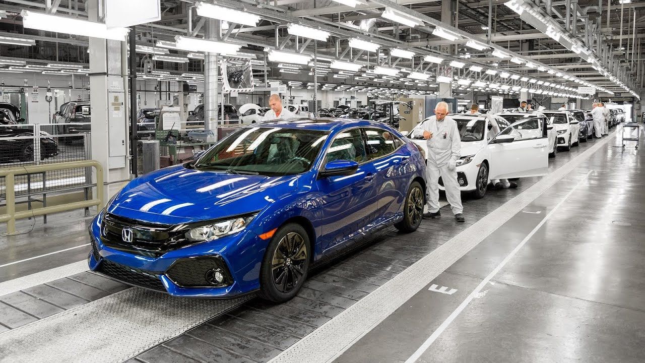 Honda Civic 2017 Factory Production Innovations