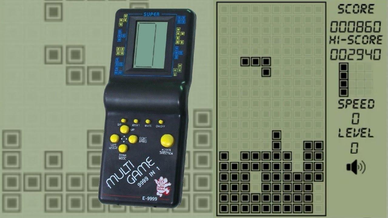 Tetris classic - Brick Game 9999 in 1 - Childhood game
