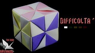 [ORIGAMI ITA] Cubo Girandola || Decorazioni/Facili/Principianti/Bambini