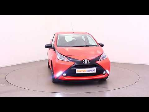 2014/64 Toyota Aygo 1.0 VVT-i x-cite x-shift - Contact Motor Range Today