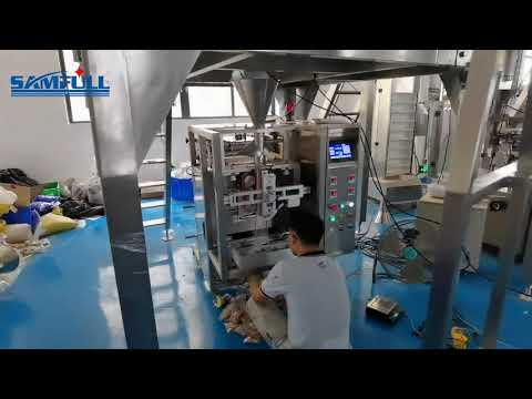 Small Biscuit/cookies/cracker Vffs Vertical Form Film Seal Weighing And Packing Machine -  Samfull