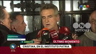 Cristina Fernández en el Instituto Patria
