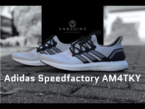 adidas-speedfactory-am4tky-'ftwrwht/cblack'-|-unboxing-&-on-feet-|-running-shoes-|-2018