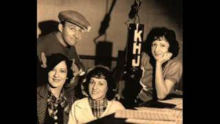 The Boswell Sisters - Doggone I
