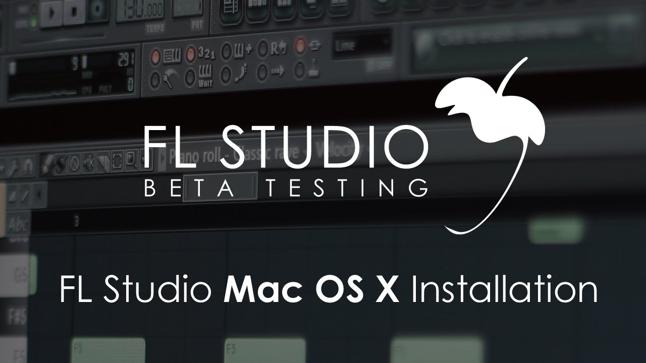 fl studio for mac os x free download