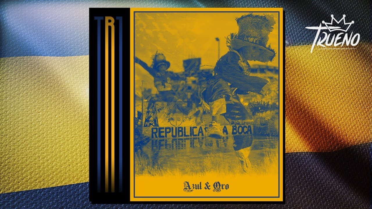 Trueno - Azul y Oro Freestyle (Lyric Video)