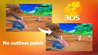 How to Get Smoother Pokémon Sun&Moon Graphics in Citra (No outlines Cheat)