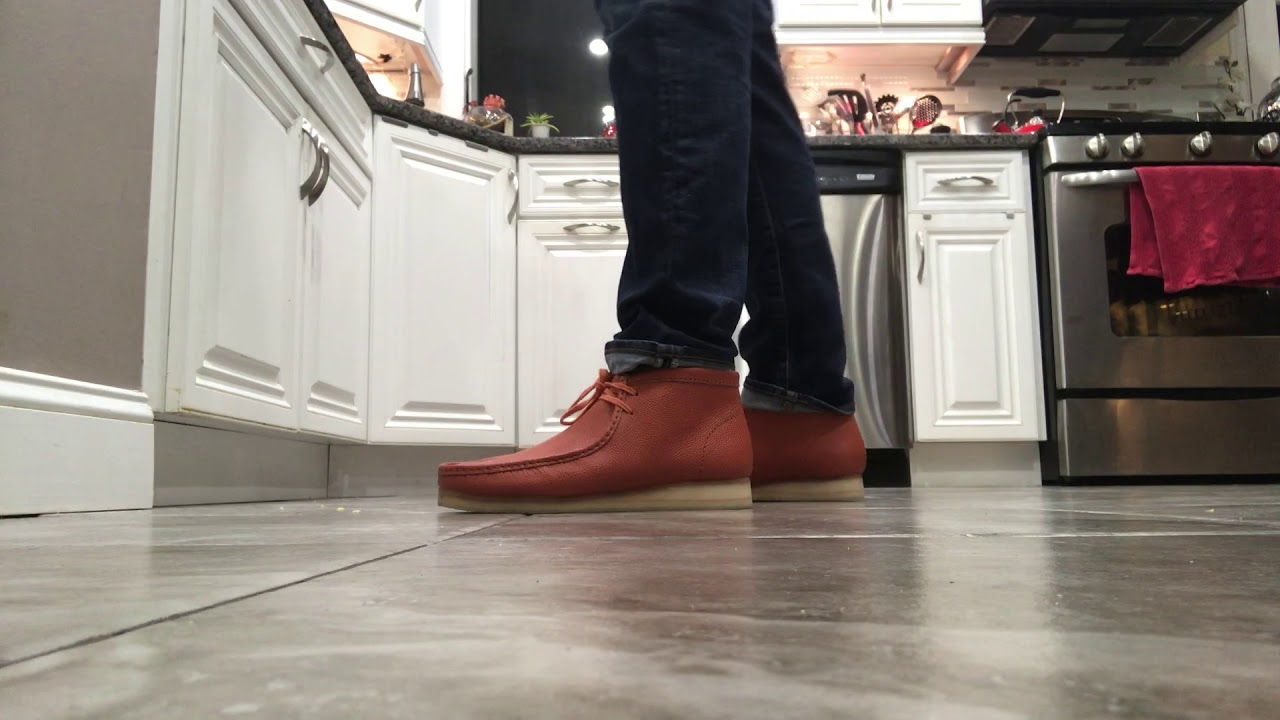 LIVE! Clarks Wallabees Horween Leather