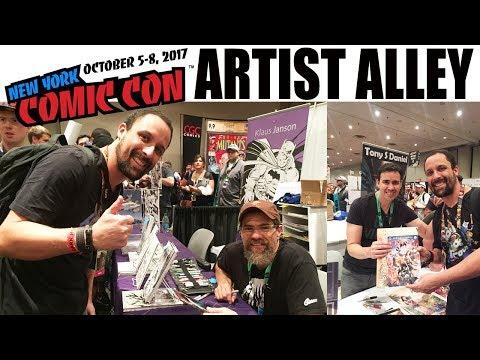 NYCC2017: Artist Alley Tour - alguns dos desenhistas de quadrinhos mais famosos que estarão na CCXP