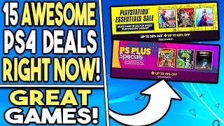 15 Awesome PS4 Game Deals RIGHT NOW - 2 PSN Store Sales!