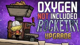 Setting Up Our Forge and Refinery - Oxygen Not Included Gameplay - Rocketry Upgrade