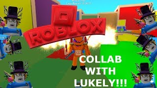 OPENING CRATES | Collab with Luke Ly | Roblox Mining Simulator