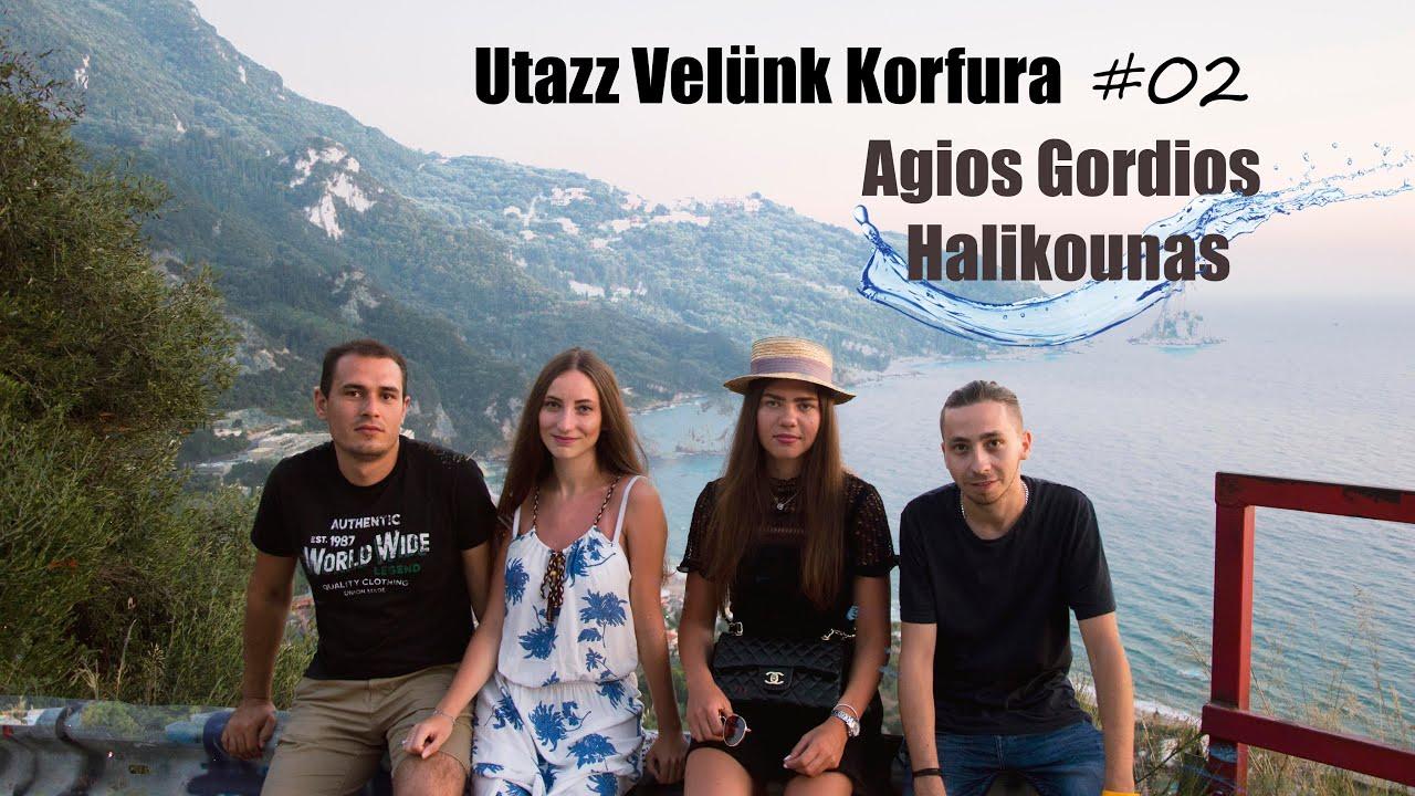 Korfu - Második rész, Agios Gordios, Halikounas