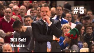 College Basketball: Ranking the Top 10 coaches (2013-2014)