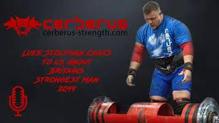 Luke Stoltman chats to us about Britains Strongest Man 2019
