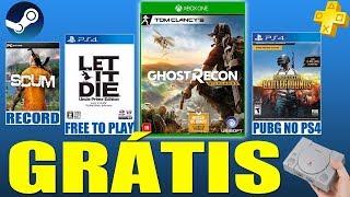 CORREEE JOGOS GRÁTIS!!! PUBG CHEGANDO NO PS4, Novo Playstation Classic e MAIS!!!!