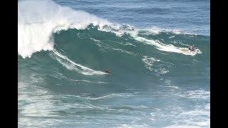 Vidéos : Belharra, La Nord, Nazaré... retour sur un mercredi de gros surf