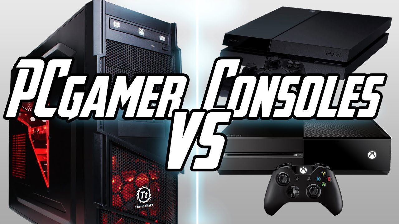 COMPARATIF PS4 / Xbox One vs PC - YouTube
