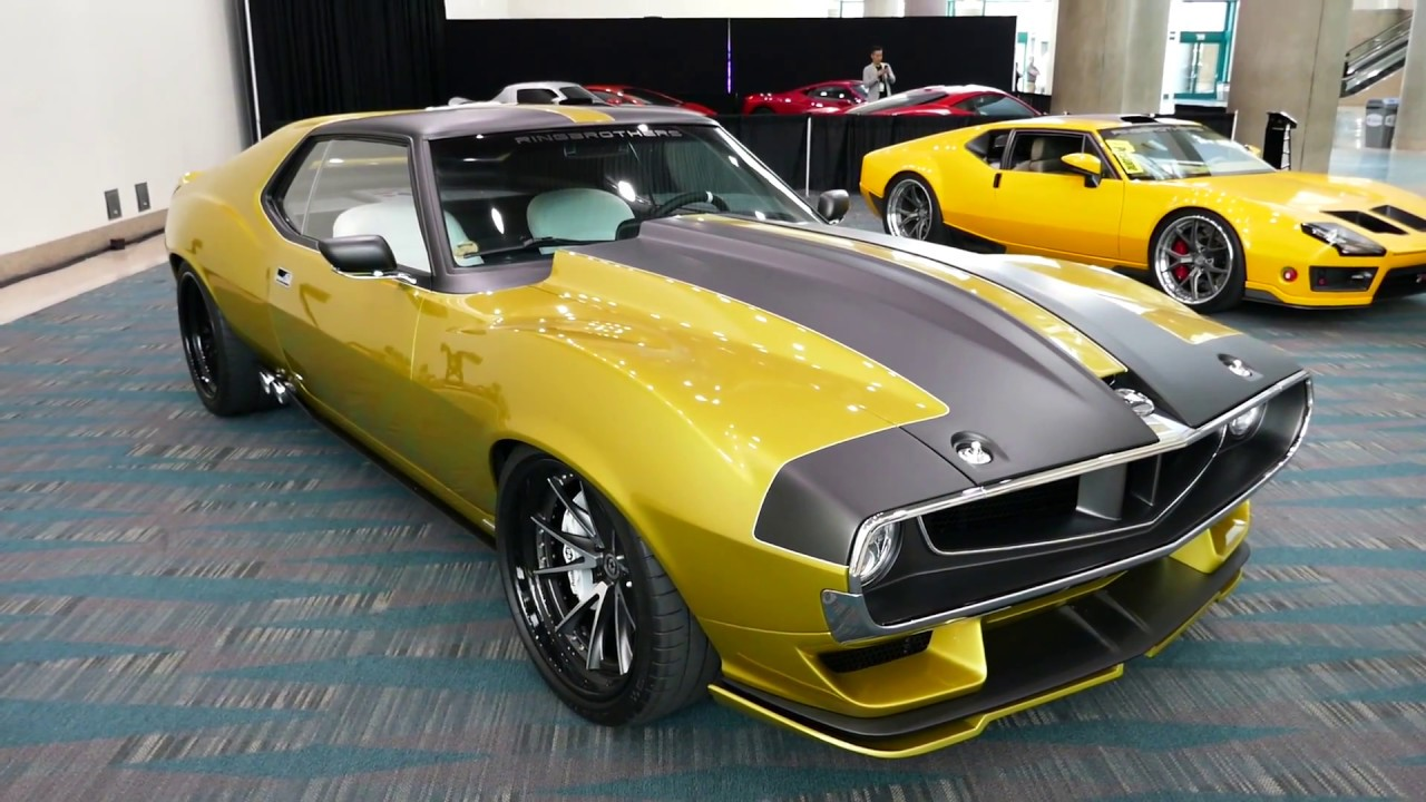 1972 Amx Javelin Prestone Display Custom Muscle Car 2017 La