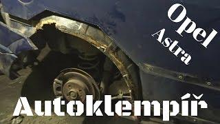 Opel Astra (Oprava lemu)(Car body repair)