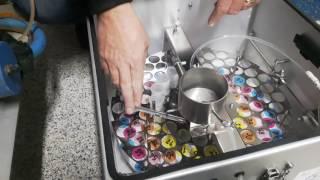 DHI Milk Sampling with the Delaval Robot & ORI Sampler: Preparing the ORI sampler