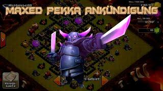 "Lets Play Clash of Clans #49 ""Maxed Pekka Ankündigung+Guter Loot "" [HD] GER/DEUTSCH"