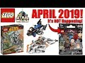 MORE LEGO Star Wars APRIL 2019 SETS + LEGO Star Wars Is NOT The next CMF Series...