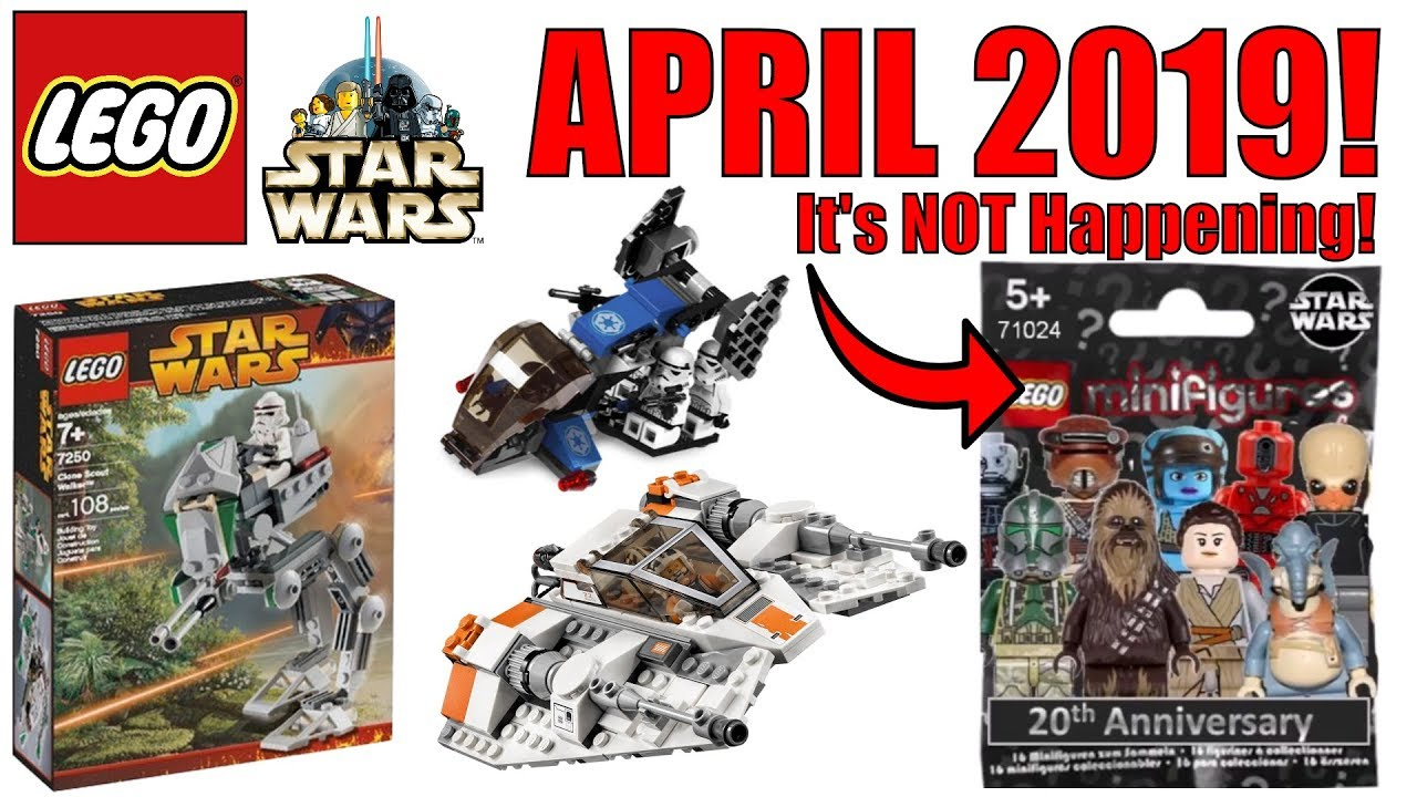 More Lego Star Wars April 2019 Sets Lego Star Wars Is Not The Next