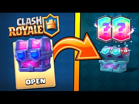 how to get magical chest in clash royale