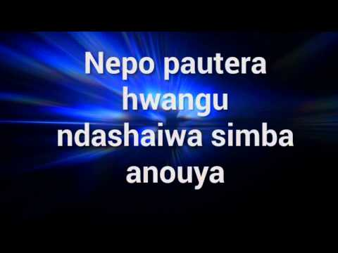 Shingisai Suluma - Ndopaanouya (video by Tiara Suluma)